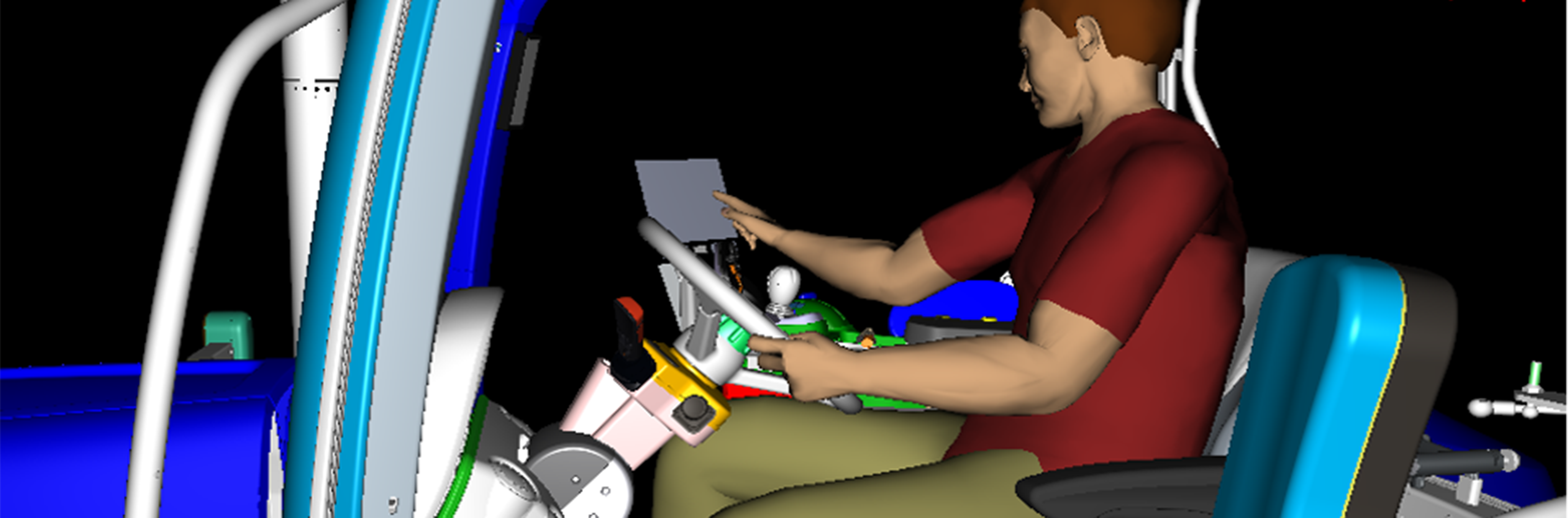 XiLab uses Human Digital Simulation to optimize design and promote a human-centric approach